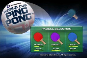 World Cup Ping Pong