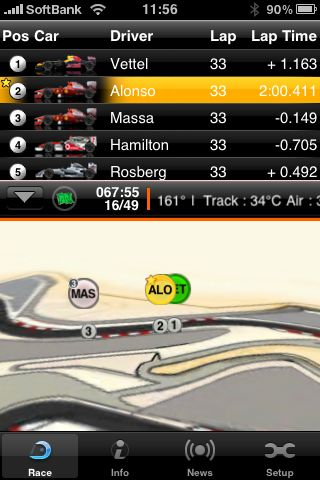 F1 2010Timing App - Championship Pass