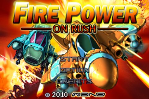 fire power on rush