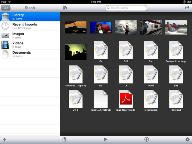 Stash Pro Private Media, Documents, and Web Browsing