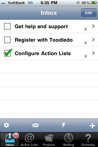ActionLists