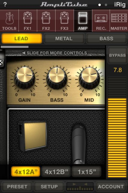 Amplitube for iPhone