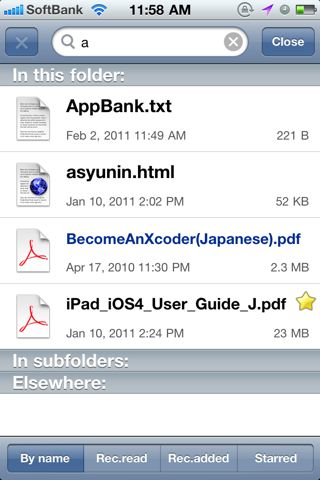 GoodReader for iPhone v3.2.3