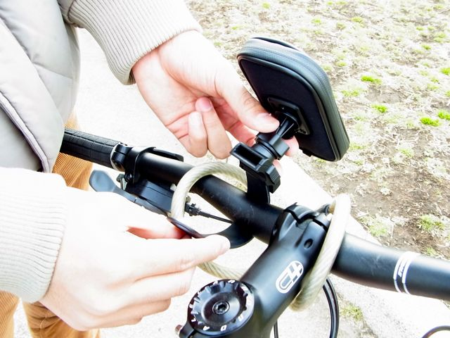 Bicycle mount for SmartPhone