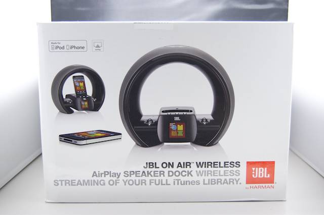 jbl on air wireless pc iphone ipad airplay appbank iphone. Black Bedroom Furniture Sets. Home Design Ideas