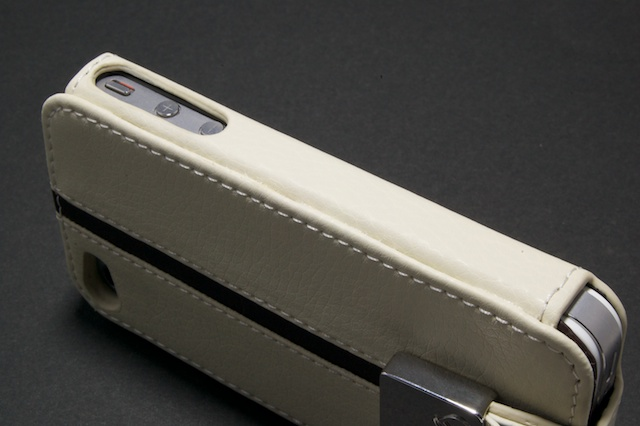 iPhone 4 Leather Case with Neck Strap