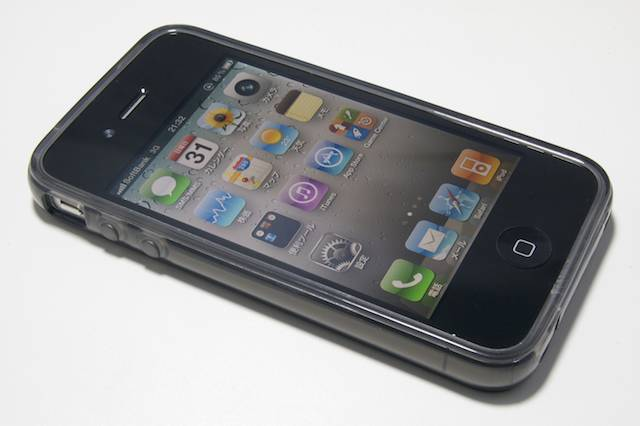 Dustproof GEL cover for iPhone4