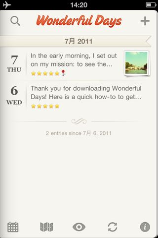 Wonderful Days - Diary with Style
