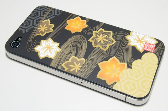 iPhone4用彩(いろどり)装飾シート