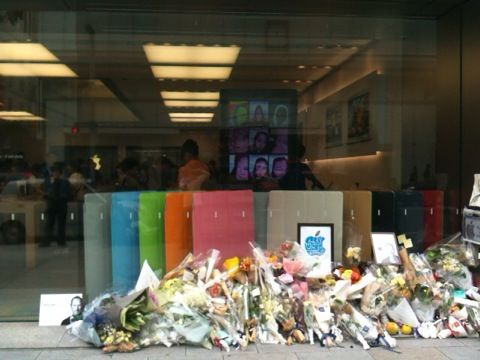 iPhone 4S Apple Store 銀座