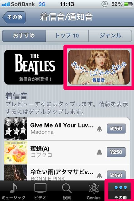iTunes in the Cloud (6)