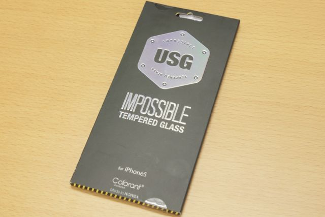 USG ITG - Impossible Tempered Glasss for iPhone 5