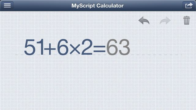 MyScript Calculator (8)