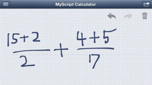 MyScript Calculator (6)