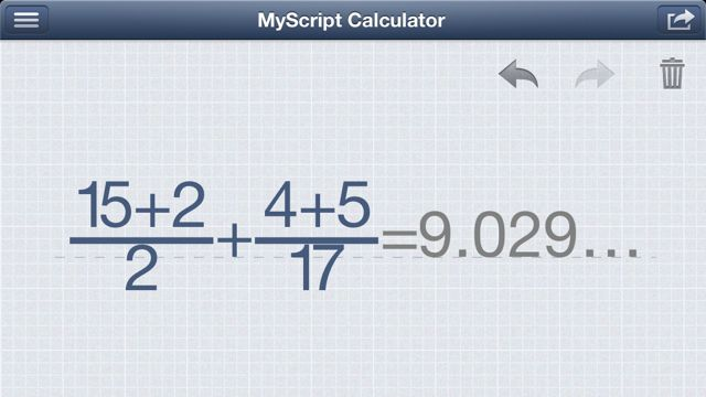 MyScript Calculator (5)