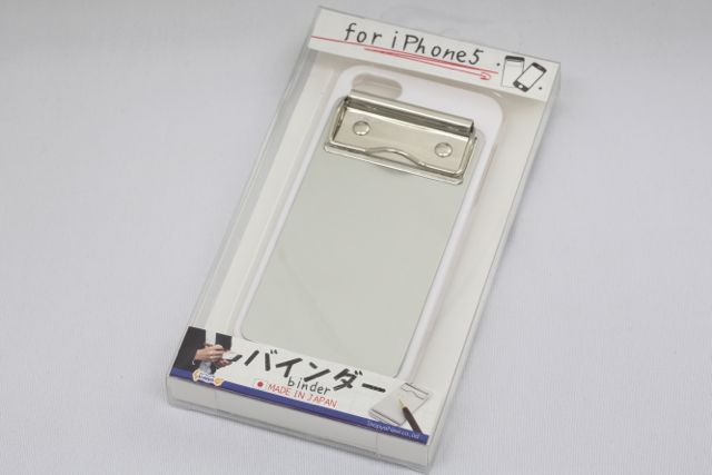 binder for iPhone 5