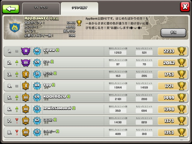 Clash of Clans LEAGUE2 - 2