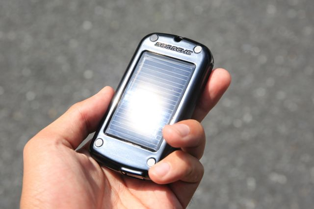 SolarPowered Battery