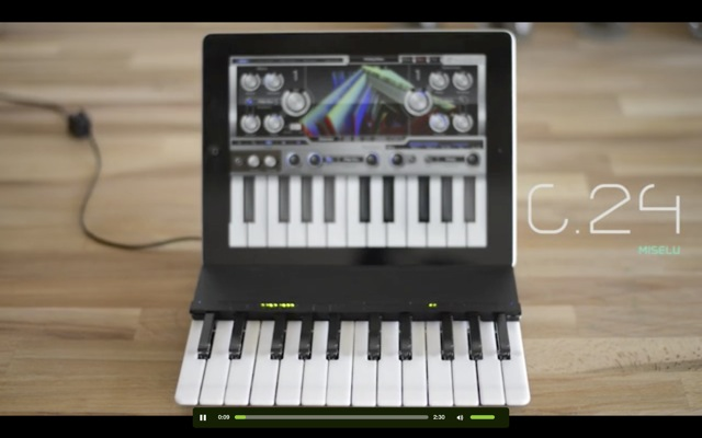 The Music Keyboard for iPad - 01