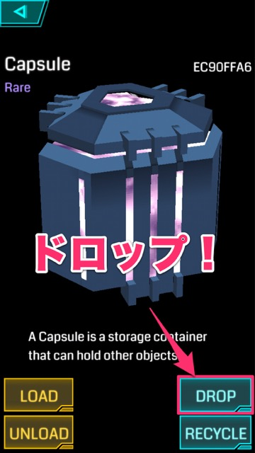 Ingress capsule - 17