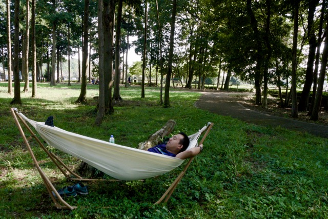 Portable Outdoor Hammock Garden Sports Home Travel Camping Swing Canvas Stripe Hang Bed Hammock Red Blue 180 X 70cm Sports & Entertainment
