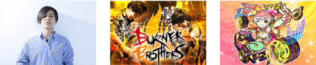 DÉ DÉ MOUSE/BURNER BROTHERS/天界DJ サンダルフォン and more...