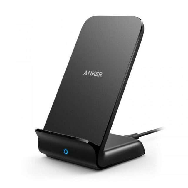 「Anker PowerWave 7.5 Stand」iPhone XS/XS Max/XRを最大7.5W出力で急速充電するワイヤレス充電器