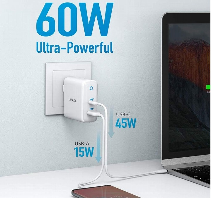 「Anker PowerPort Atom lll(Two Ports)」