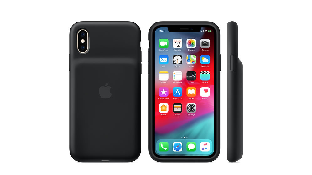 """Photo of Failure to charge. Announcement of replacement program for """"Smart Battery Case for iPhone XS / XS Max / XR"""""""