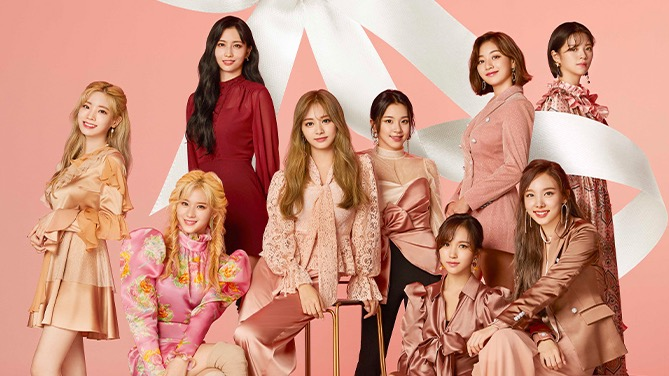 "Photo of Meet TWICE !! Listen to the new song ""SWING"" on LINE MUSIC and invite 20 people to Meet & Greet! 