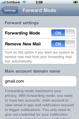 Push for Gmail