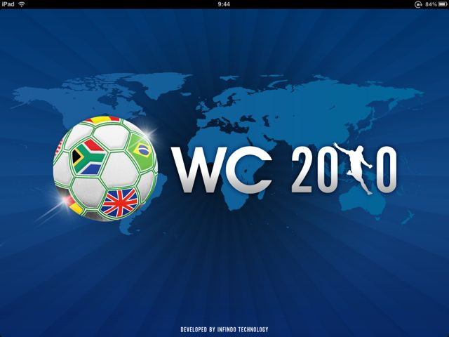2010 World Cup South Africa for iPad