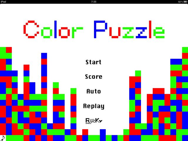 ColorPuzzle for iPad