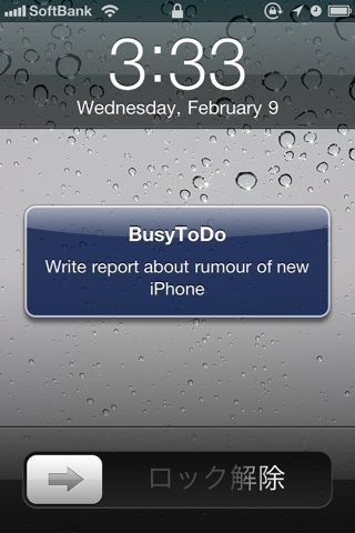 BusyToDo - To Do List syncs with iCal and MobileMe