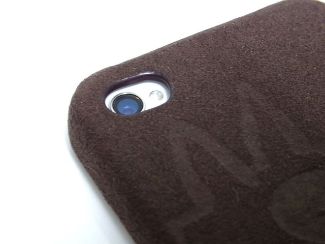 Lost DOG leather case with Suede