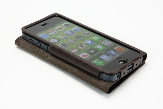GRAMAS Leather Case for iPhone 5