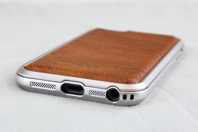 innerexile Wood E-wallet Back Cover