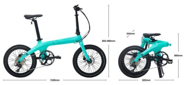 Éole--Most Elegant Carbon Folding Electric Bike